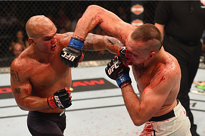 Rory MacDonald and Robbie Lawler